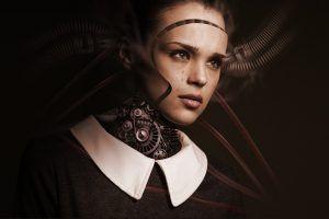 Robot con inteligencia artificial