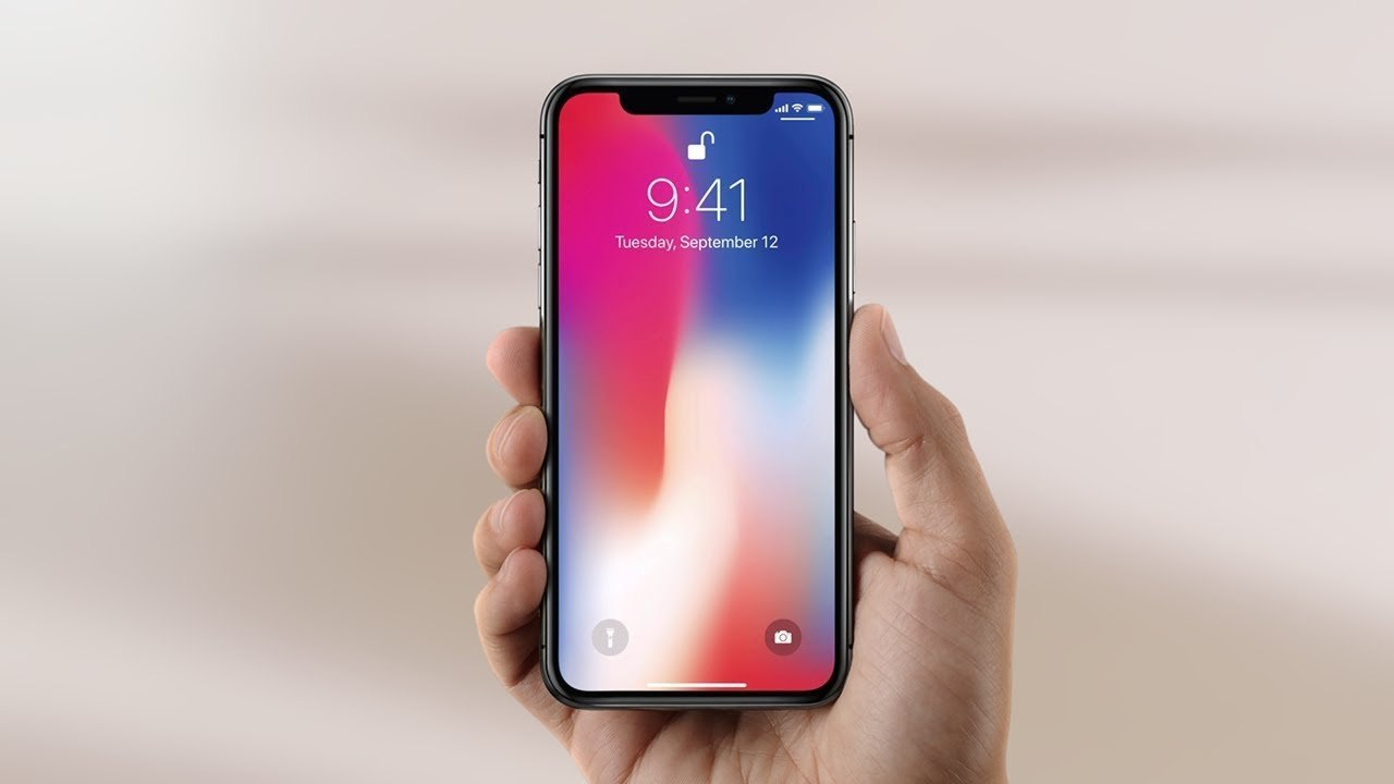 Notch en el iphone X