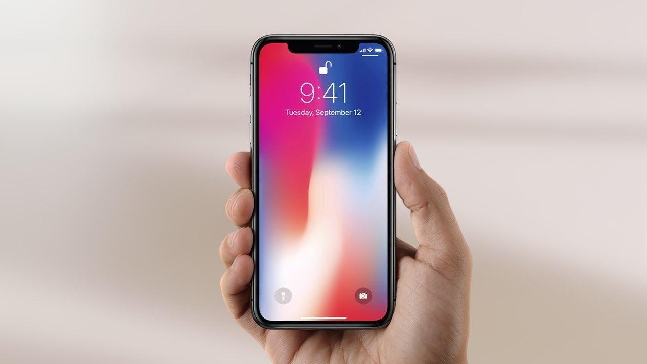 Notch en el iphone X