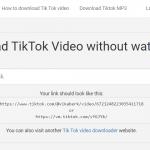 Descargar vídeos de TikTok de forma gratuita y rápida